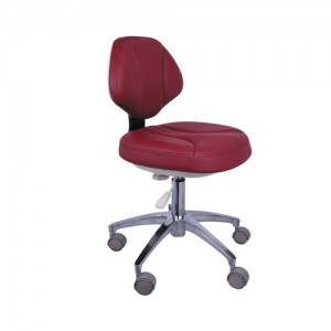 Doctor Stool Adjustable Mobile Operatory Chair Leather QY90G-1