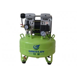 Greeloy 600W Air Compressor With Drier and Silent Cabinet GA-61XY