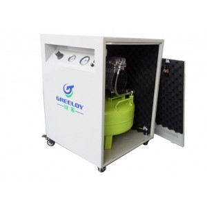Greeloy Air Compressor GA-61X With Silent Cabinet